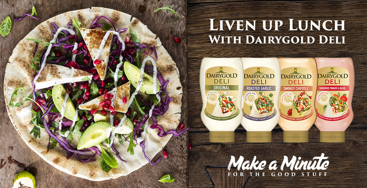 Liven up lunch with Dairygold Deli
