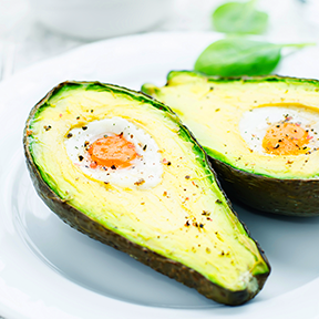 Avocado Breakfast Bake