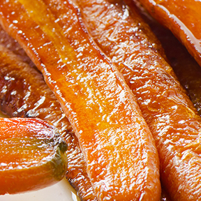 Carrots with Garlic & Herb Flavour Melts