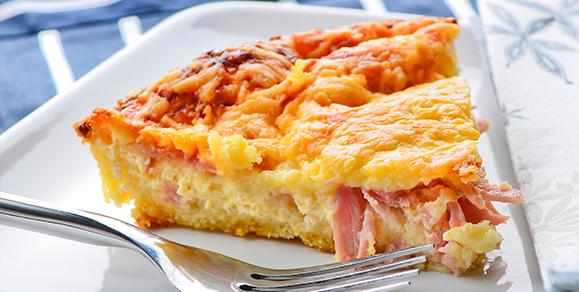 Ham & Cheese Frittata