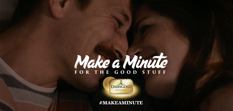 Make a Minute for the Good Stuff with Dairygold