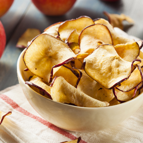 Baked Apple Cinnamon Chips
