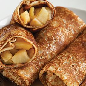 Butterscotch Apple Pancakes