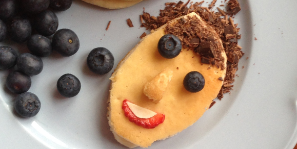 Lilly Higgins' Creative Toppings for Perfect Pancake Portraits