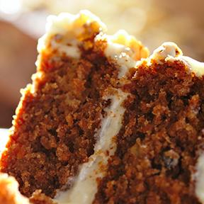Luscious Carrot Cake