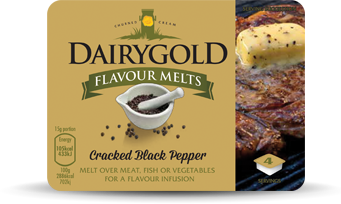 Dairygold Flavour Melts Cracked Black Pepper