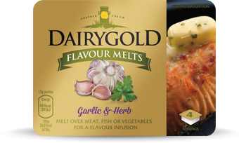 Dairygold Flavour Melts Garlic and Herb