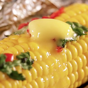 Golden Grilled Corn