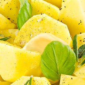 Setanta Potatoes with Basil & Dairygold