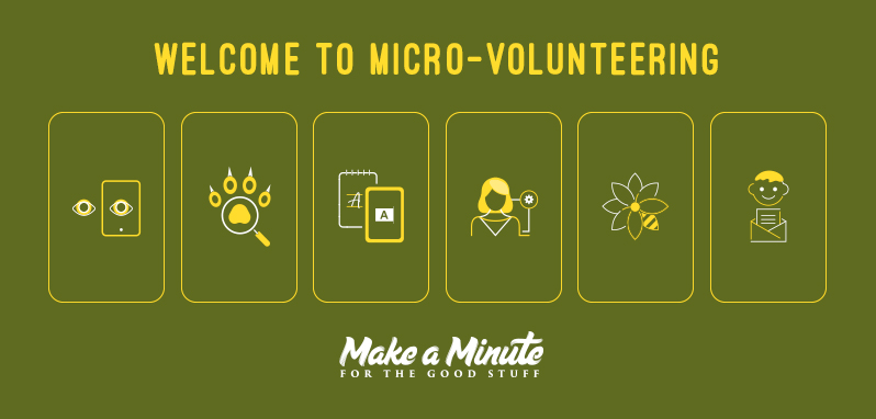 Welcome to Micro Volunteering